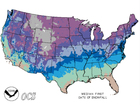 Map: When you can expect the first snow