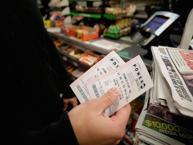 $1.6 billion record Powerball jackpot to be split 3 ways