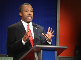 Carson cancels events after crash injures staff