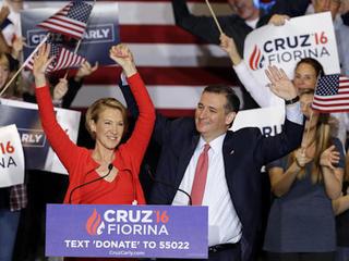 Cruz picks Fiorina despite trailing Trump
