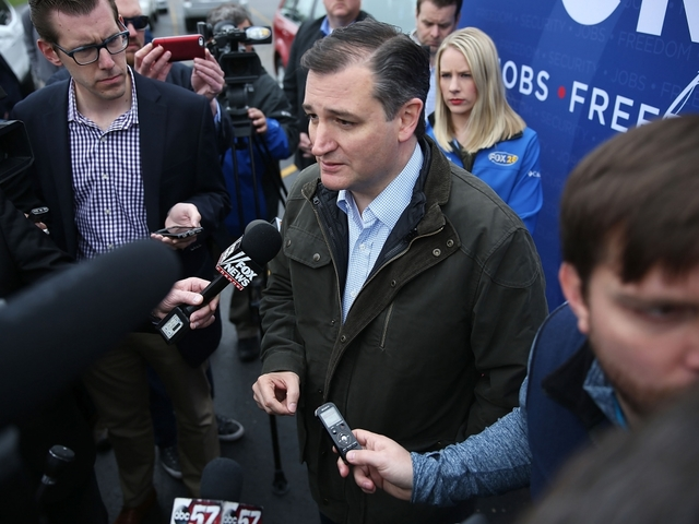 Presidential Candidate Ted Cruz suspends...