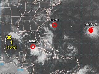 Coastal states watching these three storms
