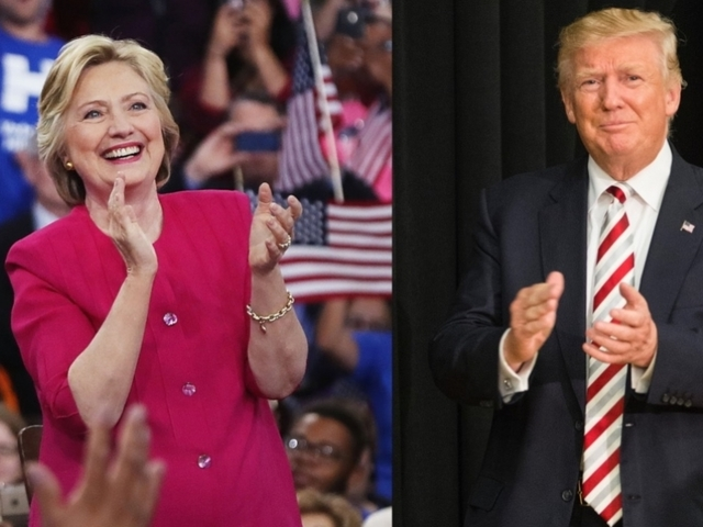 Trump Holds Narrow Lead Over Clinton in Ohio, Florida Battlegrounds