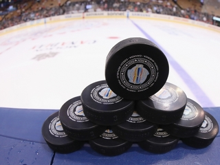 The NHL experiments with infrared technology