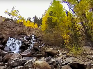 360 video: Check out fall in the Rocky Mountains