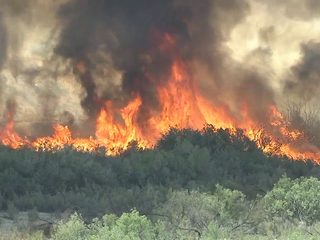 Wildfires plague this state every October