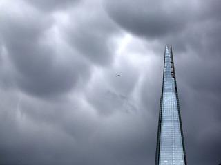 Drone nearly hit plane over London skyscraper
