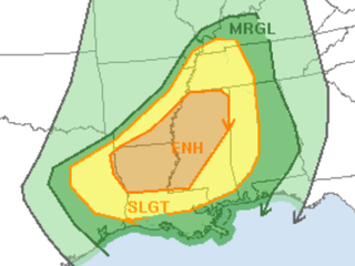 Rare severe weather outbreak possible this week