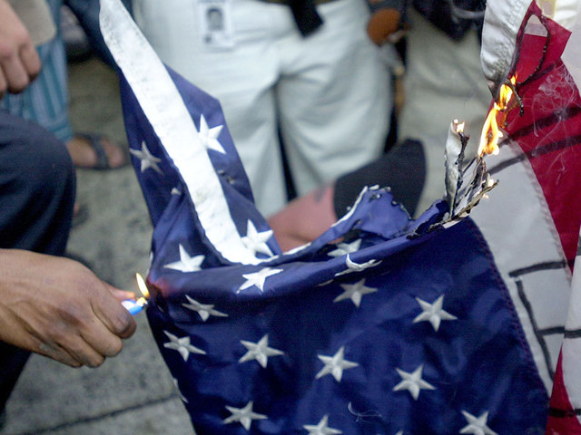 Should burning the American flag be against the law?