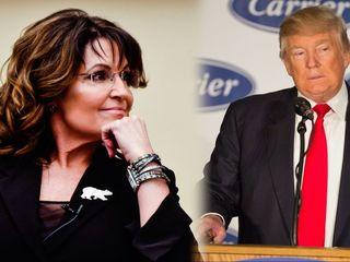 Palin criticizes Trump's Carrier deal