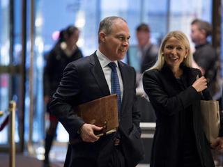 Trump taps Pruitt to run EPA