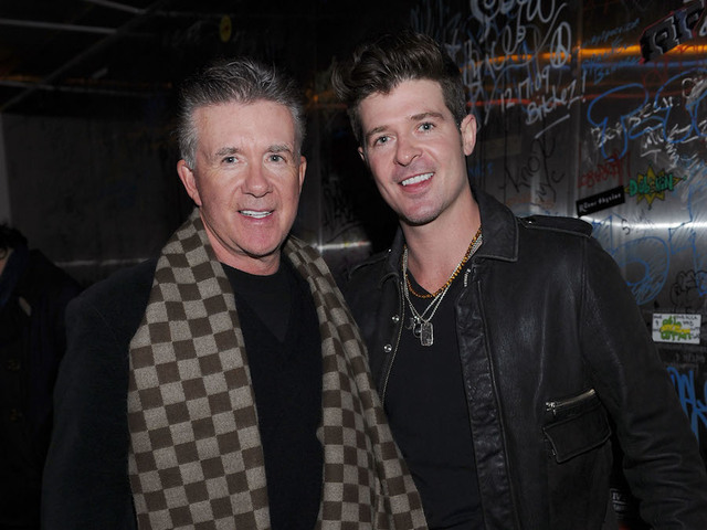 Alan Thicke talked art, coffee with Michael Vartan before death