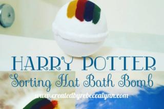 Harry Potter bath bomb reveals houses