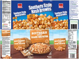 Frozen hash browns recalled for strange reason