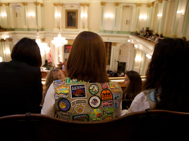 girl scouts tell archbishop