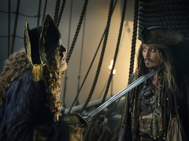 Pirates Of The Caribbean stays afloat while Baywatch makes small waves