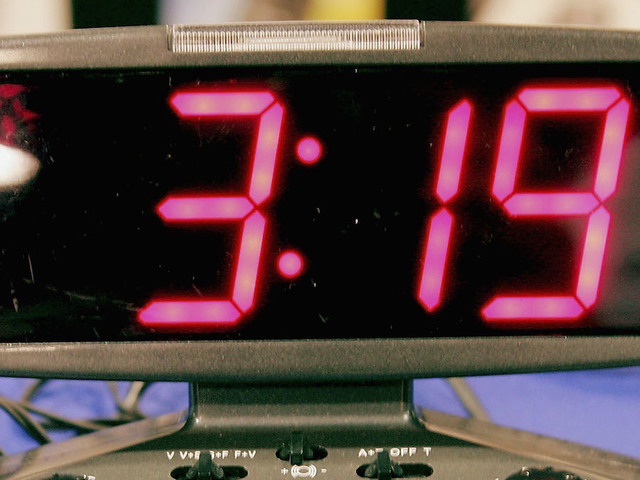 Alarm clock dropped inside wall goes off daily for 13 years