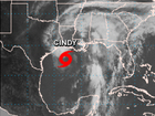 Cindy first storm to make US landfall this year