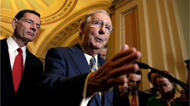 US Republicans unveil Senate health bill, but lack votes to pass it