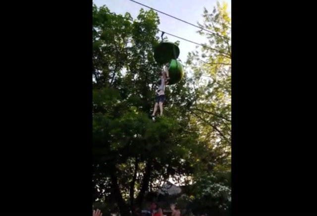 Shocking video shows teen falling from Six Flags 'Sky Ride'