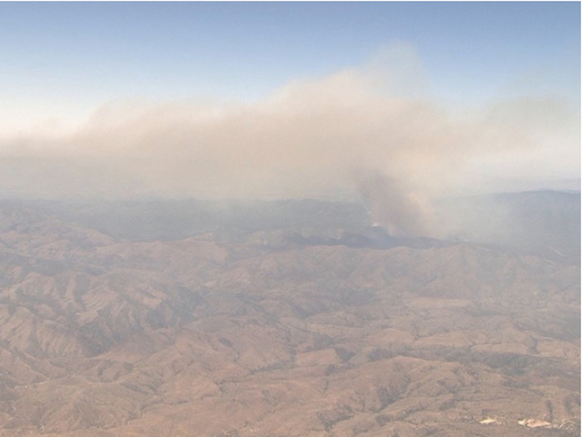 Goodwin Fire South Of Prescott Grows To 4400 Acres