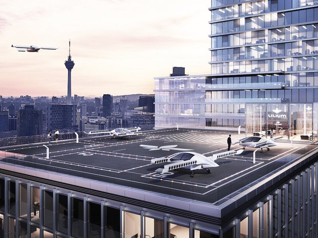 German aviation startup Lilium raises $90 mn for air taxi service