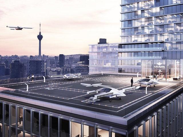 German aviation startup Lilium raises $90 mn for air taxi service