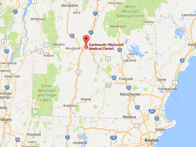 Active shooter reported at New Hampshire medical center
