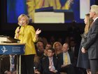 Clinton Foundation comments on Weinstein's money