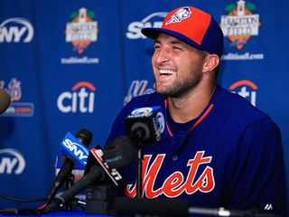 Tim Tebow will be at spring training with Mets