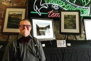 Photographer with Down syndrome opens art galler