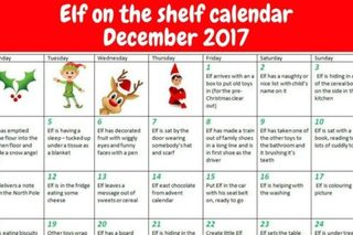 Elf on the Shelf cheat sheets for parents