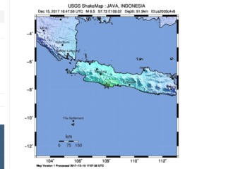 6.5 magnitude earthquake strikes Indonesia