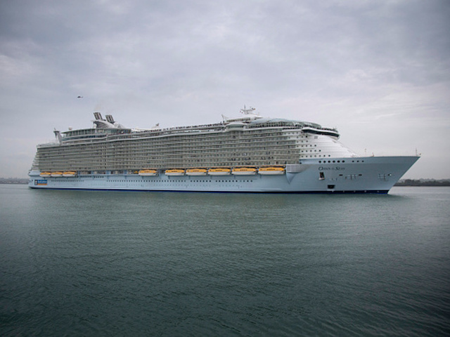 Hundreds Come Down With Stomach Illness During Royal Caribbean - Where is a cruise ship now