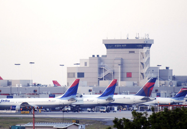 Power outages at Atlanta's busy airport grounding some flights