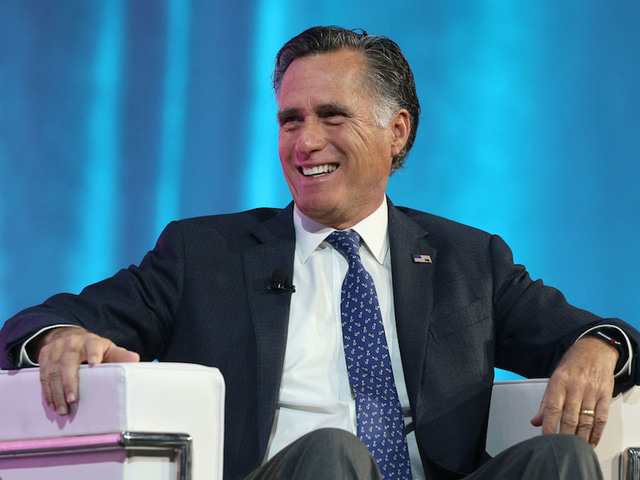 Mitt Romney makes Senate run official
