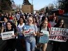 Students across US demand gun law reform