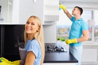 When couples share the chores, they're happier