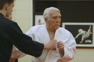 Judo teacher still kicking butt at 94