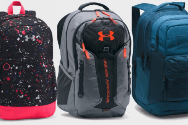 1bc5ed16d8 Get Under Armour backpacks at a serious discount right now - Fox 4 ...