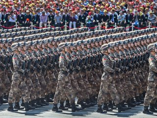 Parades let modern militaries show off