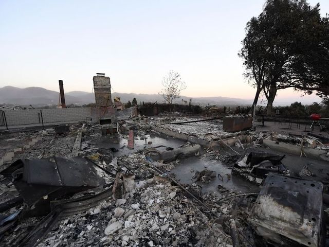 California fires' death toll rises to 50