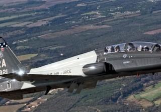 1 pilot dead, 1 injured in Air Force plane crash